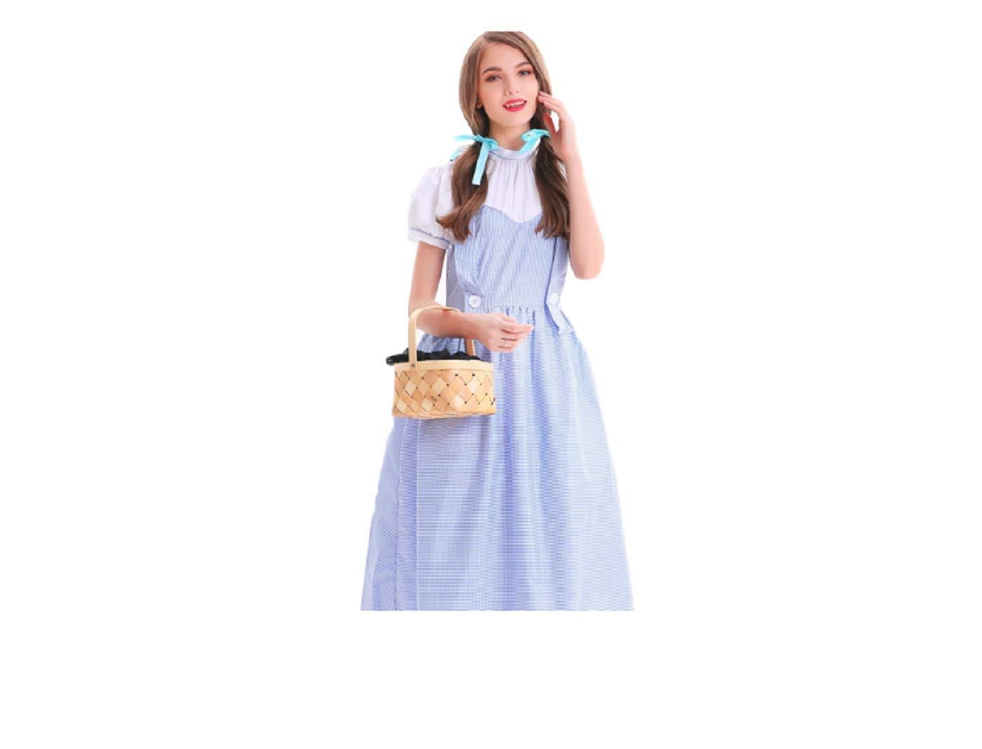 GGT Boutique Wizard of Oz Dorothy - Disfraz de Cosplay: Amazon.es ...