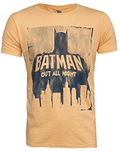 (Junk Food Batman Out All Night DC Comics Mens T-Shirt Officially)