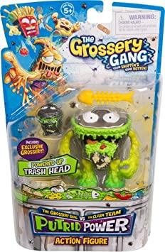 Gooey Chewie Moose Toys Import 69051 Grossery Gang The Season 3 Action Figurine