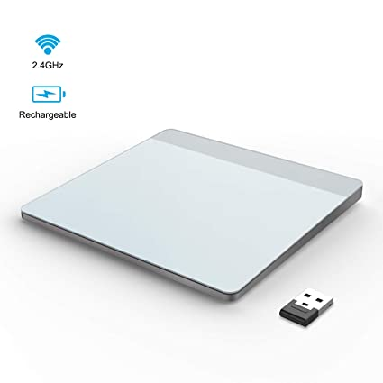 Wireless Trackpad Touchpad, VOGEK Rechargeable Trackpad with Multi-Touch  Navigation Support Windows 7 Windows 10 on Laptop/Notebook/Desktop Computer