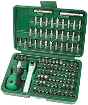 Mannesmann - M29899 - Juego de puntas de destornillador de seguridad, 99 piezas: Amazon.es: Bricolaje y herramientas