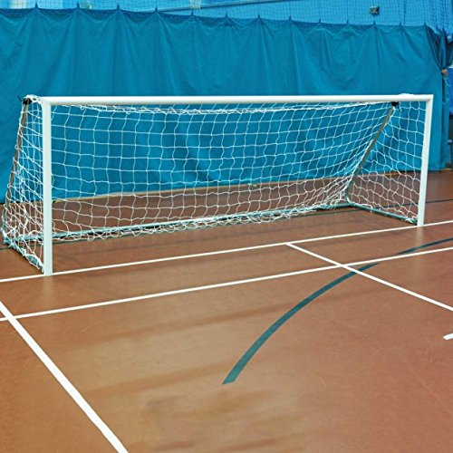 Premium Quality Parts conforms to BSEN748 and BS8461:2012 As do all our Goals Offical Supplier of the FA 12x4 Lightweight Indoor 5 A Side 60mm Aluminium Folding Football Goal Posts