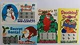 20 Fake Holiday Themed Fake Lottery Tickets