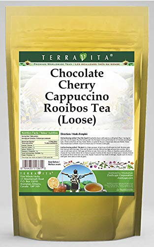 Chocolate Cherry Cappuccino Rooibos Tea (Loose) (8 oz, ZIN: 544607) - 3 Pack