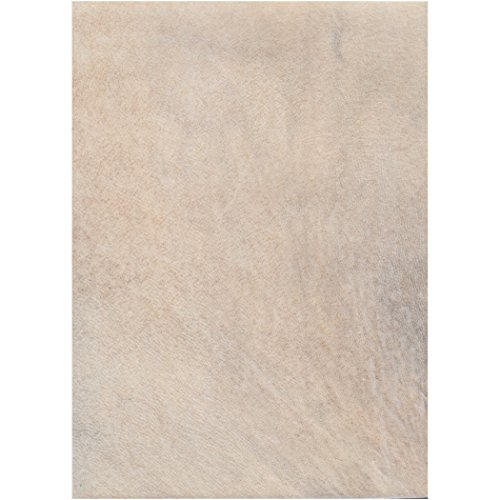 Natural Animal Skin Parchment- Goat 5x7 Inch Sheet (INDIVIDUAL SHEET)