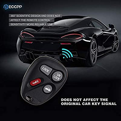 ECCPP Replacement fit for Keyless Entry Remote Key Fob Buick/Chevy/GMC/Pontiac/Saturn/Oldsmobile/Cadillac Escalade Series ABO1502T (Pack of 1): Automotive