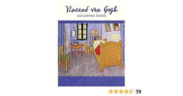 Amazon.com: Vincent Van Gogh: Coloring Book (9780764979477): Pomegranate:  Books