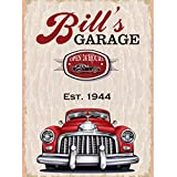 Personalized Metal Bar Man Cave Wall Sign with Man Cave Garage Custom Sign perfect gift for Bestman, Groomsmen gift Him