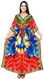 Kimono Caftan Beach Bikini Cover up Jewel Neck Plus Size Designer Caftan Dress