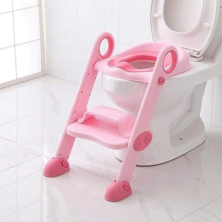 LYATW Aseo niño del asiento Con Escalera taburete de paso for la silla de Formación del