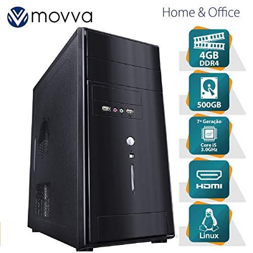 COMPUTADOR LITHIUM INTEL I5 7400 3.0GHZ 7ª GERAÇÃO MEMORIA 4GB HD 500GB HDMI/VGA LINUX FONTE 350W - MVLII5H1105004 - MOVVA