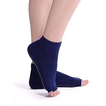 Liuxc Calcetines de yoga Cinco Dedos Calcetines de Yoga, Cintura Cinco Dedos Calcetines de Yoga