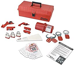 Master Lock 1457LKX Personal Safety Lockout Kits-Valve And Electrical