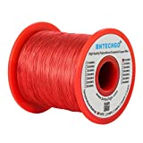 BNTECHGO 32 AWG Magnet Wire - Enameled Copper Wire - Enameled Magnet Winding Wire - 1.0 lb - 0.0078'' Diameter 1 Spool Coil Red Temperature Rating 155℃ Widely Used for Transformers Inductors