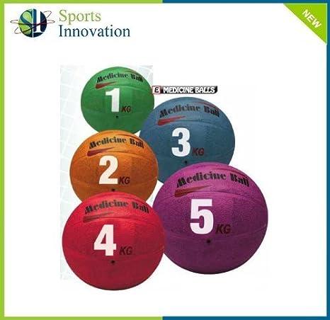 Carta Sport 4 kg balón Medicinal – Rojo -: Amazon.es: Deportes y ...