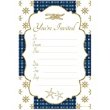 Nautical Invitations - Any Occasion - Fill In Style (20 Count) With Envelopes