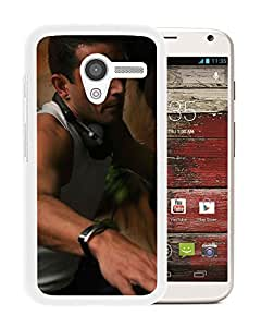 Beautiful Designed Cover Case With Antoine Clamaran Man Headphones Watches Consol (2) For Motorola Moto X Phone Case