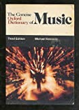 The Concise Oxford Dictionary of Music, Michael Kennedy, 0193113201