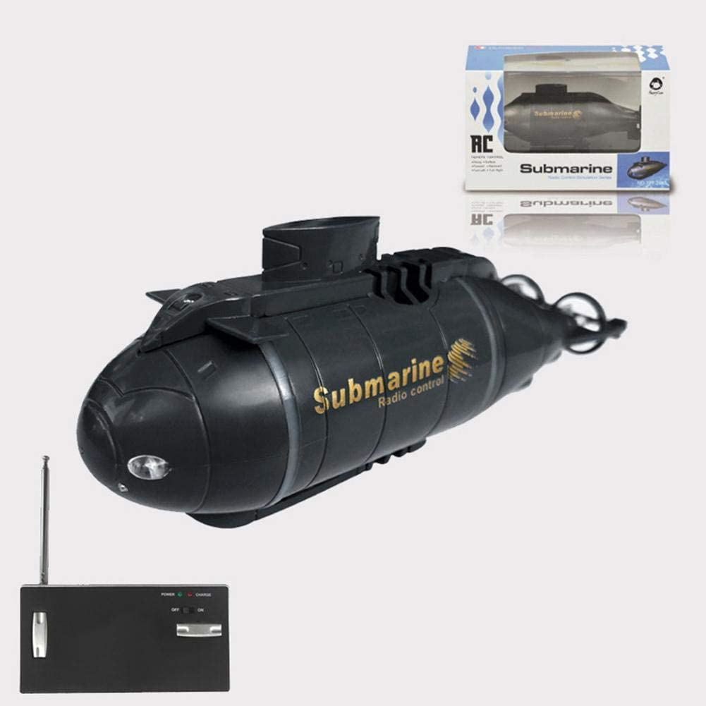 well-suited HJUI Remote Control Ship Water Fun Toy Submarines Ship RC Boats Toy For Children For Pools And Lakes Bath Smart Electric Submarine Boat 4.80x1.30x1.81inch