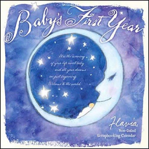 2009 Year Wall Calendar (Baby's First Year Calendar 2009 (Flavia))