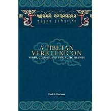A Tibetan Verb Lexicon: Verbs, Classes, and Syntactic Frames