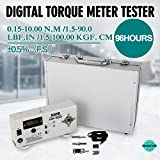 HP-100 Digital torque meter screw driver wrench measure tester 96 Contious Hours