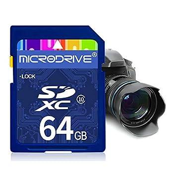 Tarjeta de Memoria SD de Clase 10 de Alta Velocidad de 64 GB ...