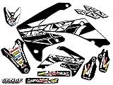 04 crf 450 graphics - Senge Graphics 2002-2004 Honda CRF 450R Fly Racing Black Graphics kit