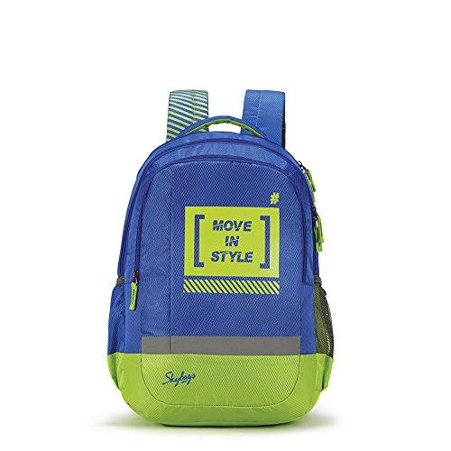 Skybags Bingo Plus 35.9856 Ltrs Blue School Backpack (SBBIP02BLU)