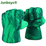 The Hulk Boxing Gloves Smash Hands Fists Incredible Hulk Soft Plush Toys Cosplay Superhero Costume...