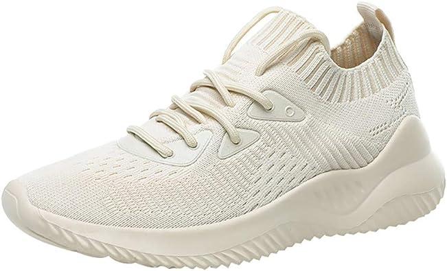 TWIFER Zapatillas Deportivas de Mujer Gimnasio Zapatos Running Deportivos Aumentar Más Altos Sneakers Fitness Correr Casual Ligero Comodos Transpirable Respirable Antideslizante Primavera/Verano 2019: Amazon.es: Zapatos y complementos