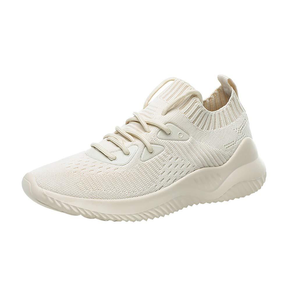 ZARLLE Zapatillas Deportivas de Mujer,Zapatos Respirables Zapatillas Deportivas Tejidas voladoras Zapatos con Correa Casuals,Mujer Adelgazar Zapatos,Zapatos Running Aire Libre: Amazon.es: Ropa y accesorios