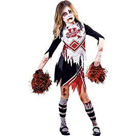 Zombie Girl Cheerleader-Kostüm
