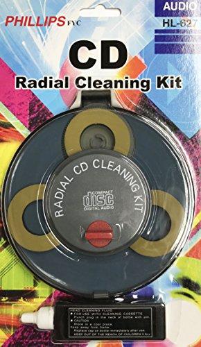 Cd / Dvd Radial Disc - DVD/CD Radial Cleaner Kit