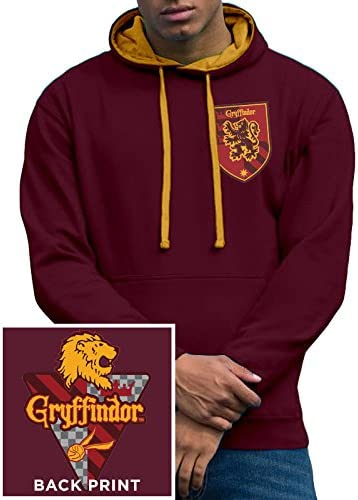 TALLA XXL. I-D-C Harry Potter House Gryffindor-Pre Order Only Sudadera para Hombre