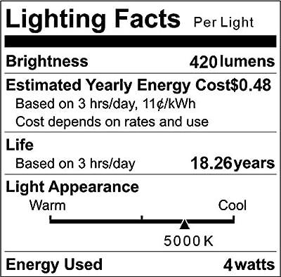 LED Edison Bulb Dimmable, 40W Equivalent, 4W Vintage ST64 LED Filament Light Bulbs, E26 Medium Base