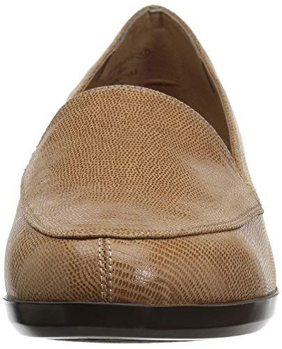 Match Loafer True Slip On Tan Lizard Women's Aerosoles xpOFEE