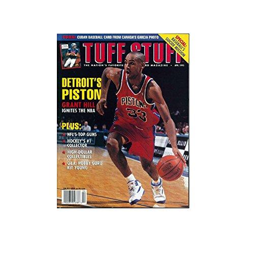 Tuff Stuff Magazine Back Issue April 1995 Grant Hill