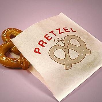 "Amazon.com: PREMIUM bolsas de Pretzel – 7"" x 6.75"" ..."