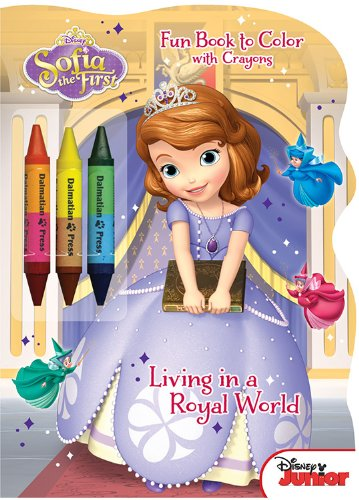Amazon Com Disney Junior Sofia The First Living In A Royal World