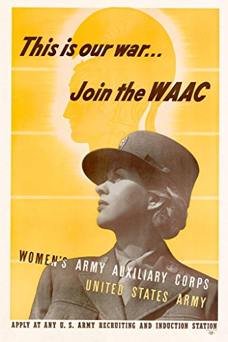 Used, WPA War Propaganda This is Our War Join The WAAC Poster for sale  Delivered anywhere in USA
