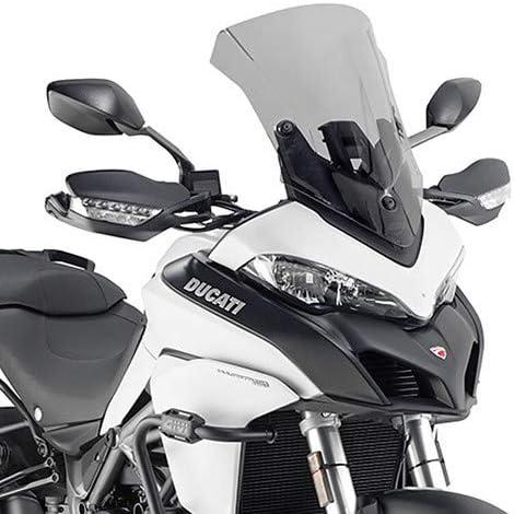Parabrisas parabrisas D7406S compatible con Ducati Multistrada 1260 2018 2019 Givi humo