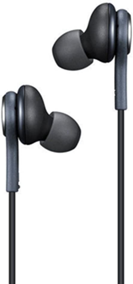 Earphones Headset Earbuds w/Mic Headphones Replacement for Samsung Galaxy S8 S9 S10 S8/9/10 Plus Note 8 9 Apple iPhone 8 X XS MAX XR 11 LG G7 V40 V30 Pixel 2 3 XL HTC U11 U12 Moto Z2 Z3 - by Moona