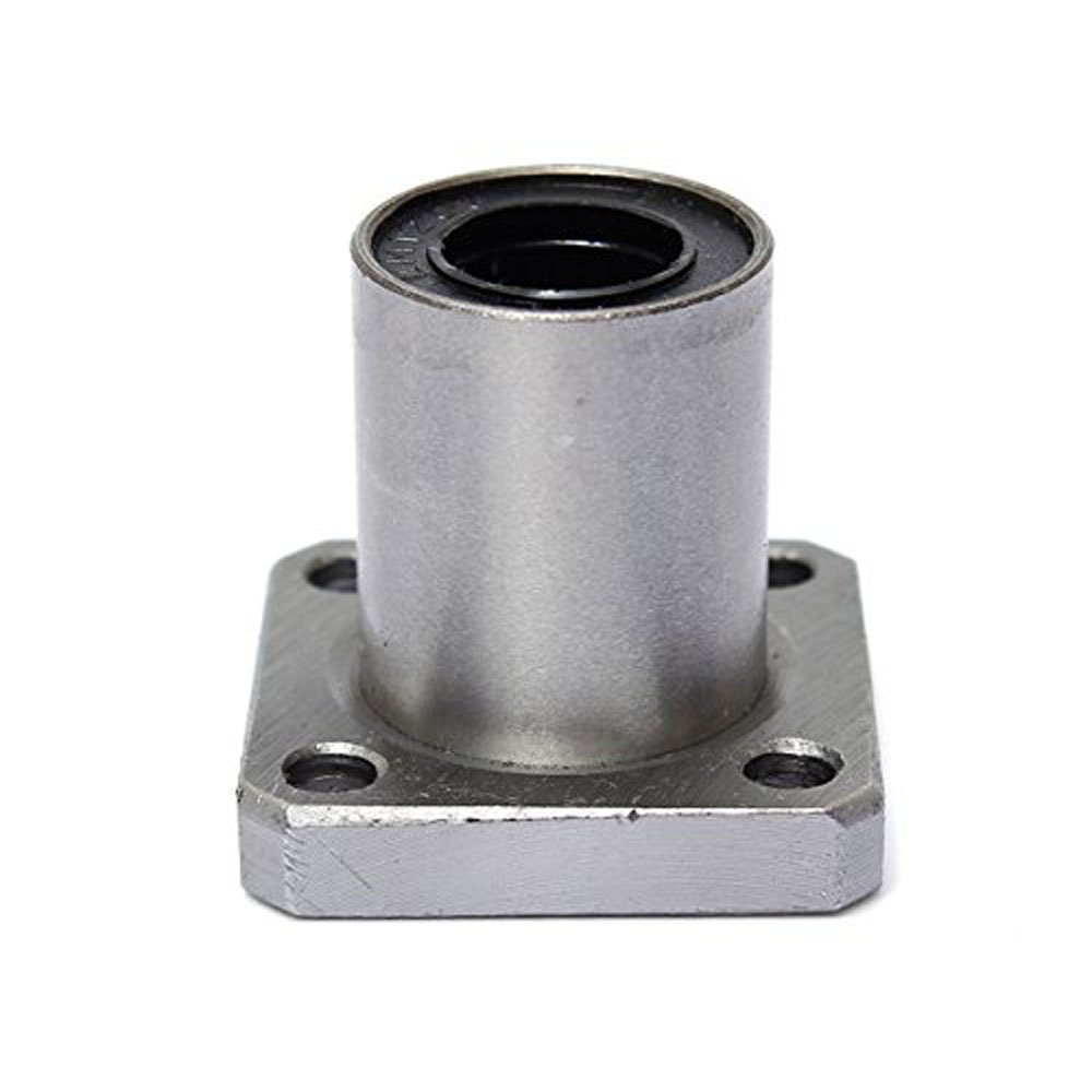 6mm Inner Diameter Square Flange Linear Motion Bushing Ball Bearing LMK6UU