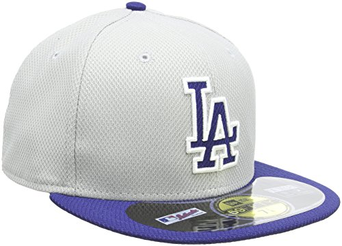 MLB Los Angeles Dodgers Road Diamond Era 59Fifty Baseball Cap, 7 1/2 ()