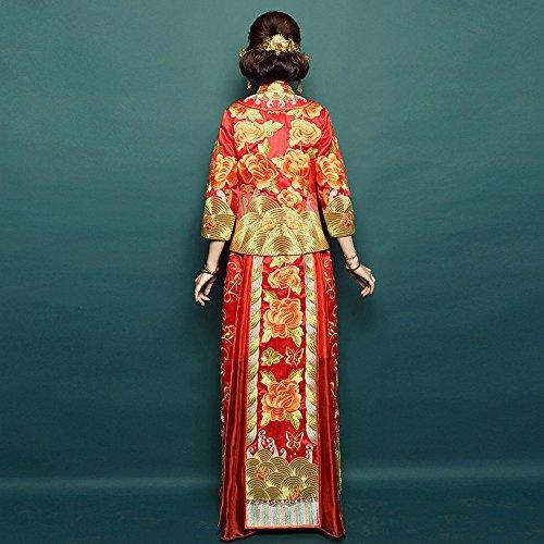 DHG Luxus Bridal Hochzeitskleid Show Retro Chinese RASRgx