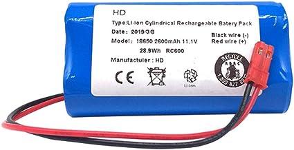 WOVELOT Pezzi di Ricambio della Batteria agli Ioni di Litio per Ilife X3 V3 V5 V5 V5S V5S Cw310 V7 Deebot Cen250 11.1 V 2600 mAh