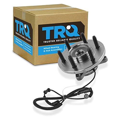 (TRQ Front Wheel Bearing & Hub Assembly Driver or Passenger Side for Ford Truck)