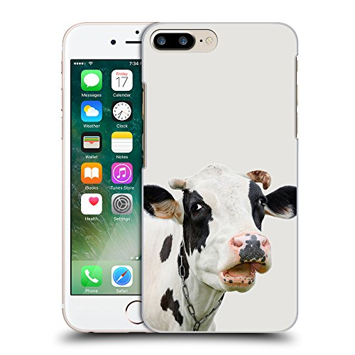 GoGoMobile Coque de Protection TPU Silicone Case pour // Q05710631 Vache curieuse Platino // Apple iPhone 7 PLUS