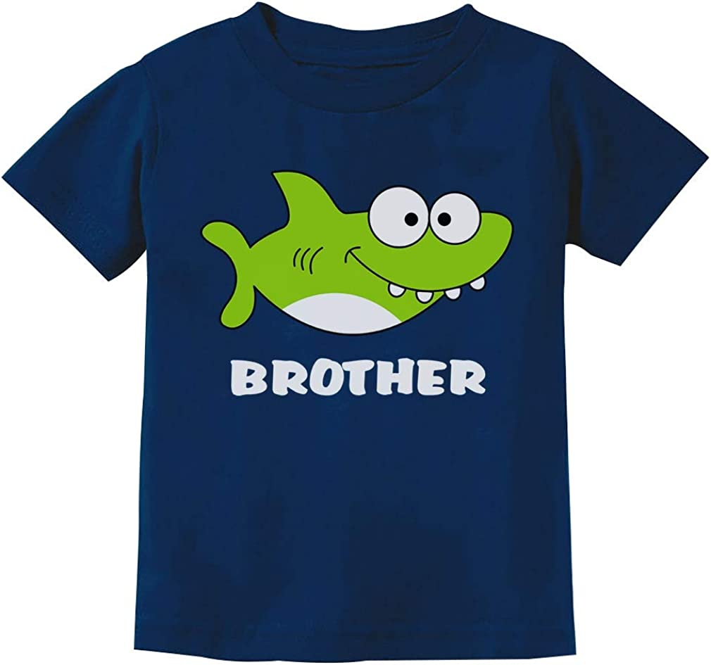 Shark Shirt for Brother Gift for Big Brother Youth Kids T-Shirt
